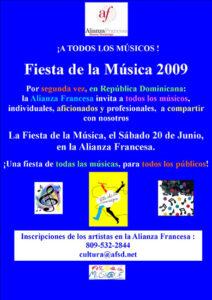 Fiesta Música Alianza Francesa Junio 2009