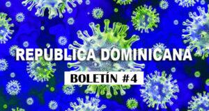 Casos Confirmados República Dominicana Boletin 4