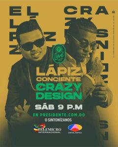 Lápiz Conciente y Crazy Design Live Presidente 02