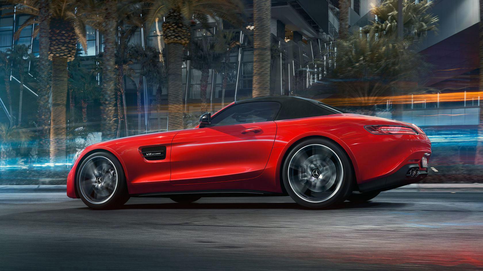 Mercedes-AMG GT Roadster Exterior 04