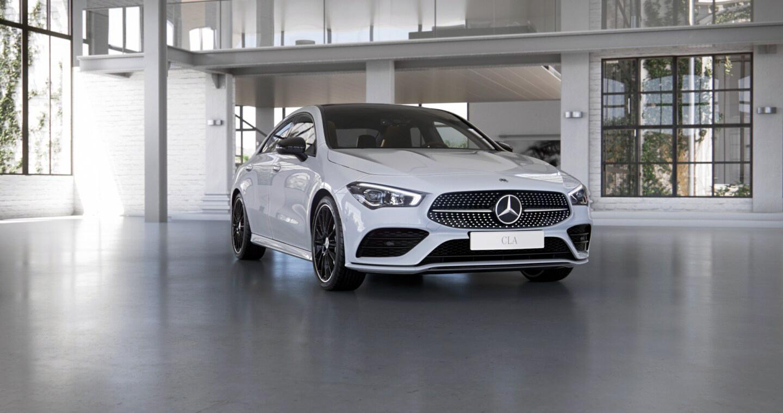 Mercedes-Benz CLA Coupé Exterior 01