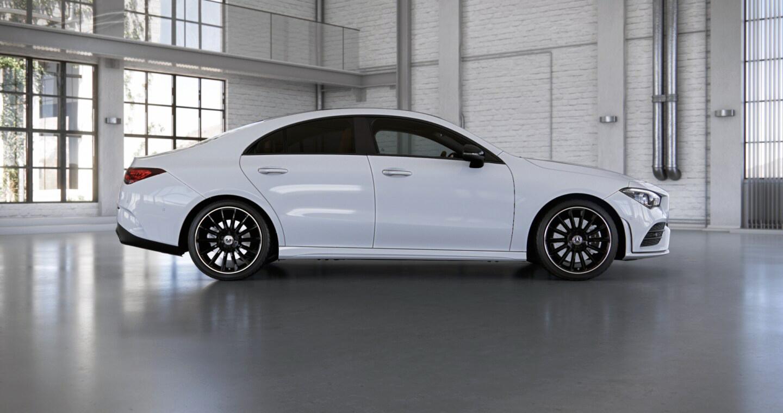 Mercedes-Benz CLA Coupé Exterior 02