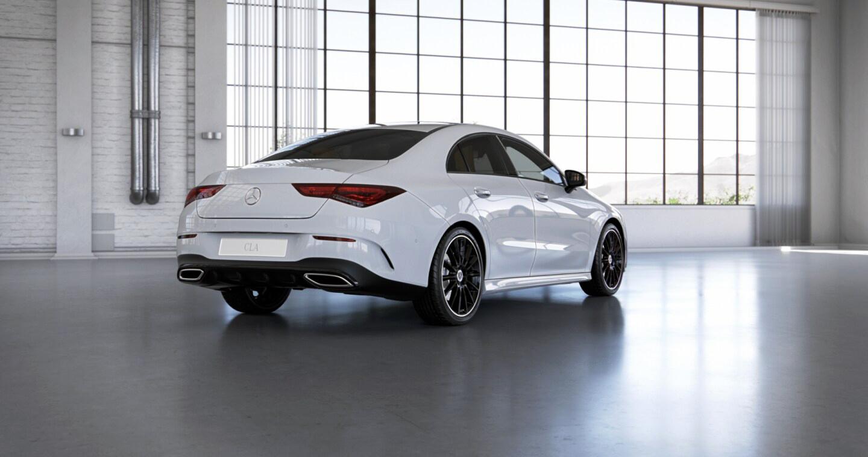 Mercedes-Benz CLA Coupé Exterior 03