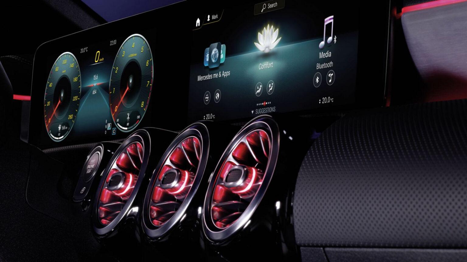 Mercedes-Benz CLA Coupé Interior