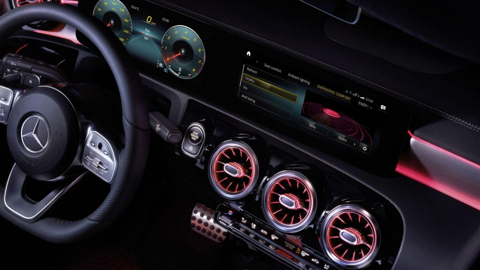 Mercedes-Benz CLA Coupé Interior Volante 01