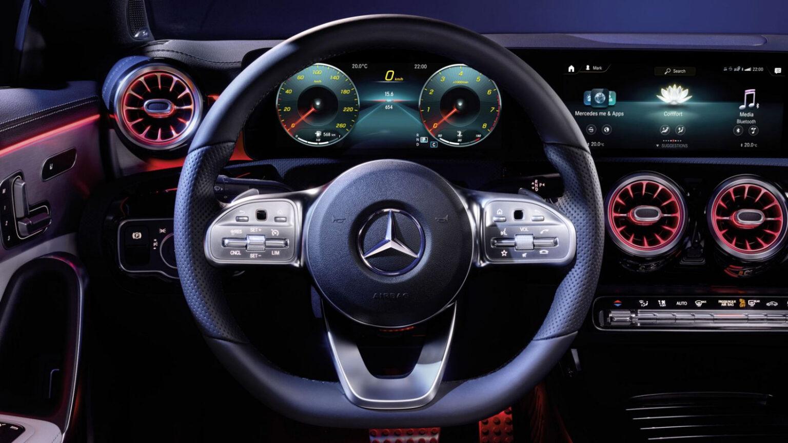 Mercedes-Benz CLA Coupé Interior Volante 02