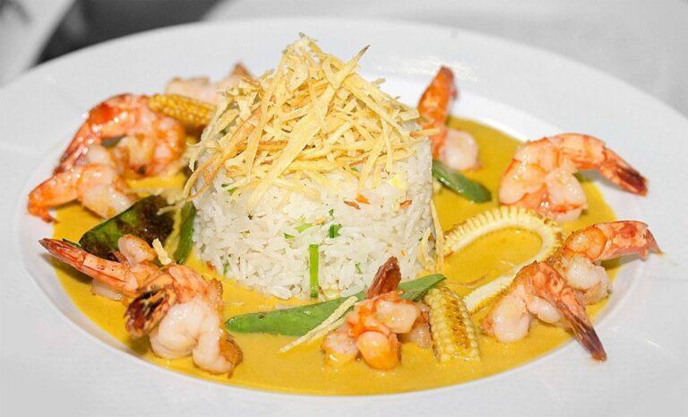 Uno de los platos de Pat'e Palo en Santo Domingo