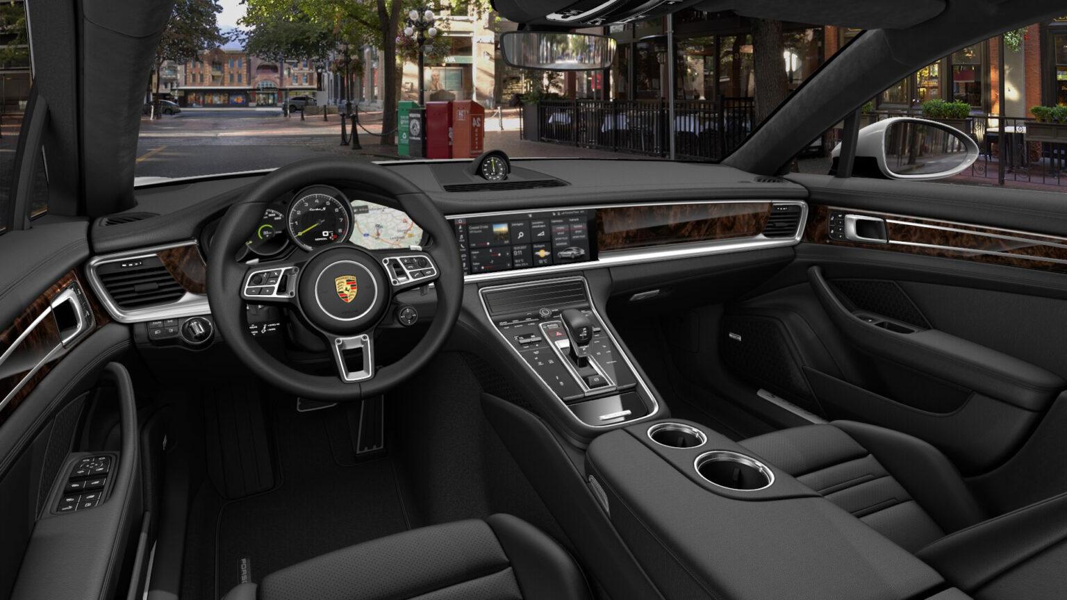 Porsche Panamera Turbo S E Hybrid Interior 01
