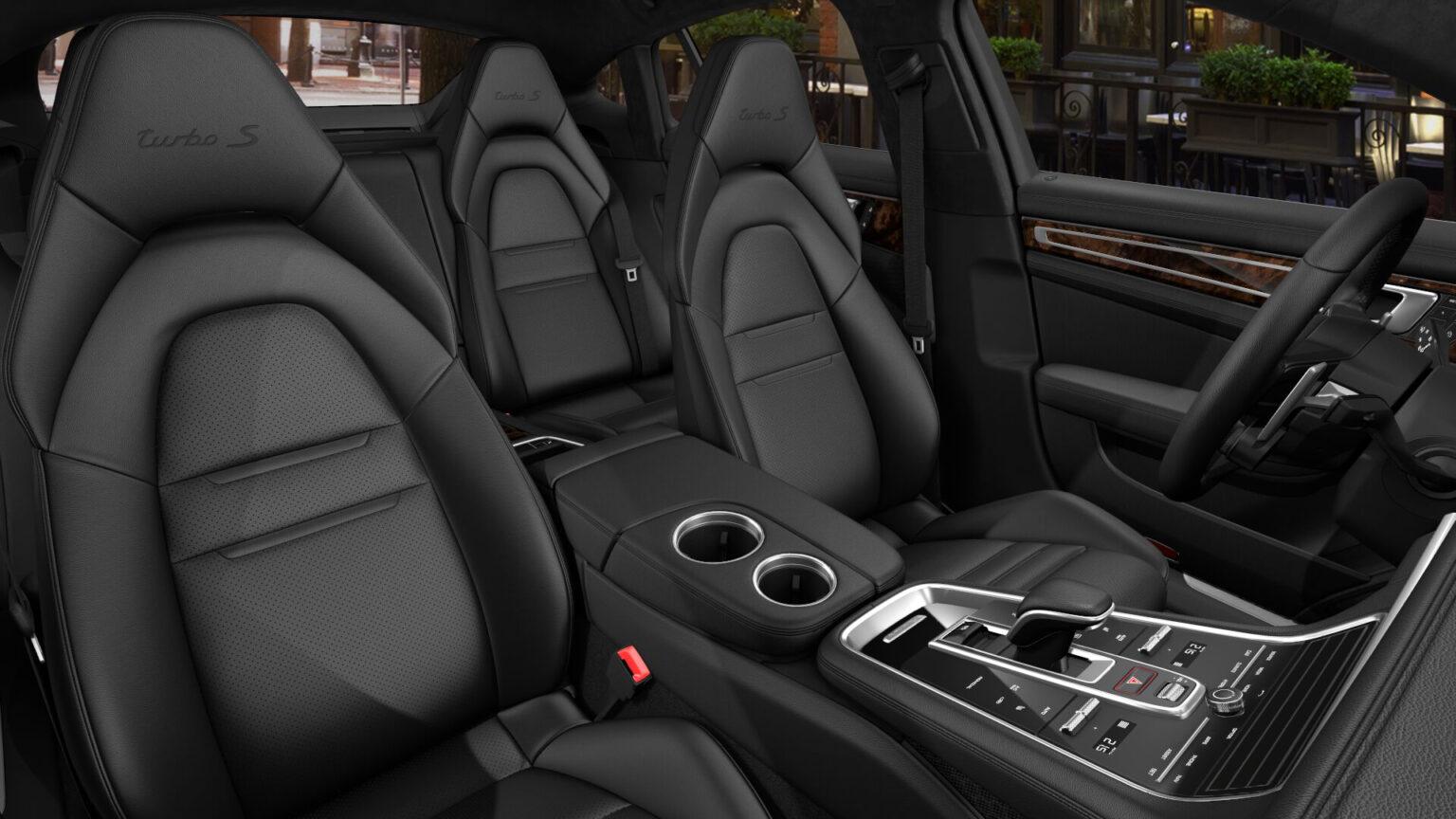 Porsche Panamera Turbo S E Hybrid Interior 02