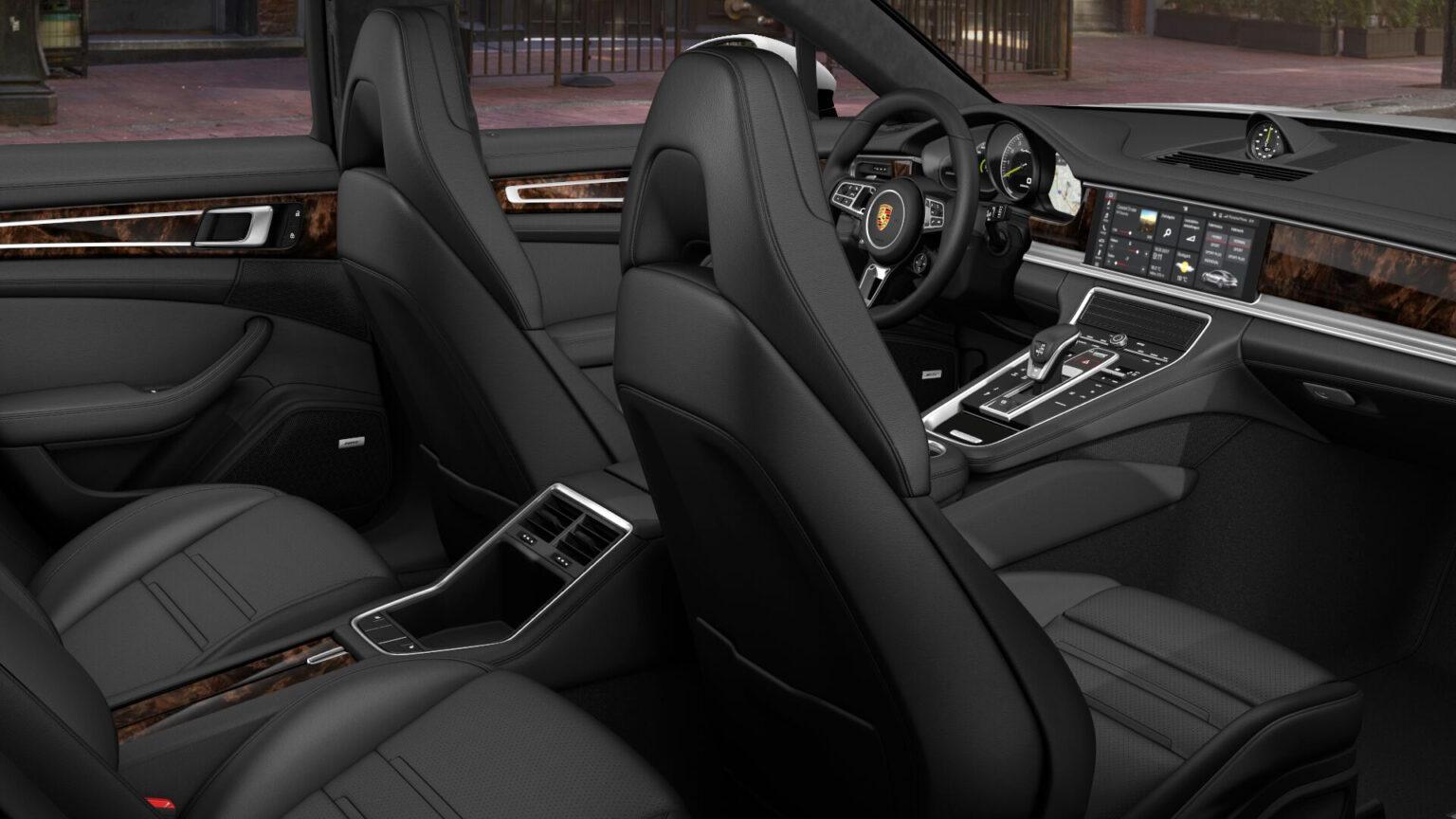 Porsche Panamera Turbo S E Hybrid Interior 03