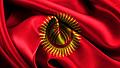 Bandera Kirguizistan v01