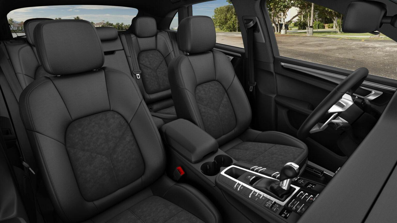 Porsche Macan S interior 02