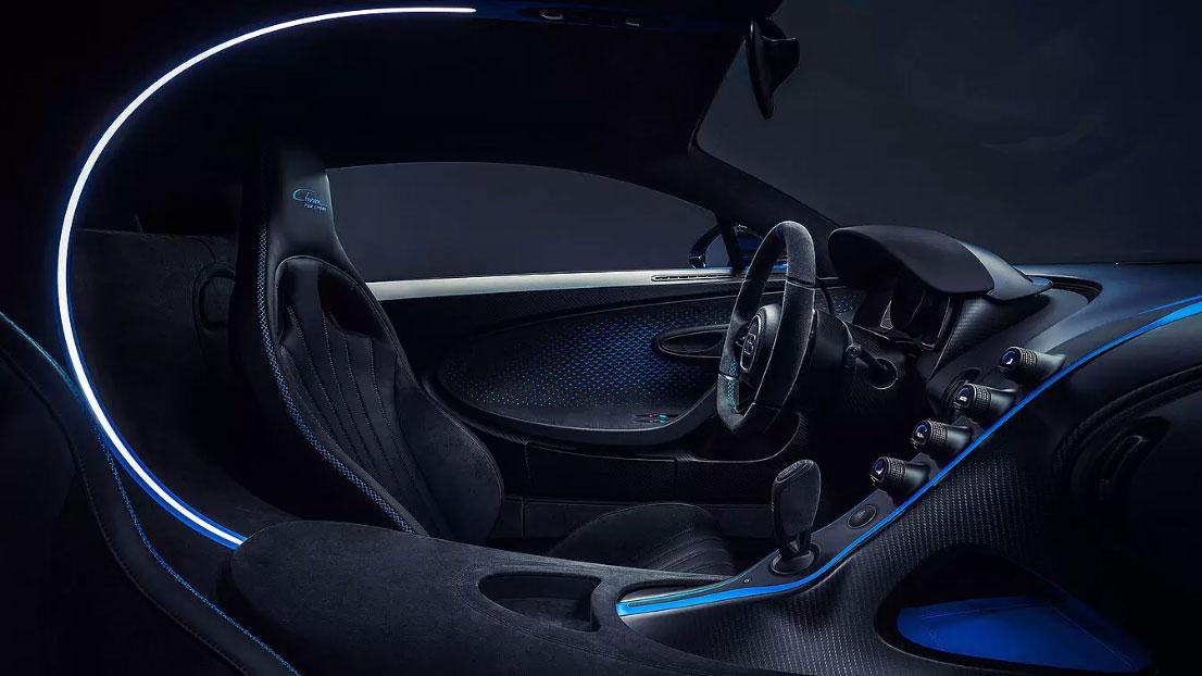 Bugatti Chiron Pur Sport Interior 01