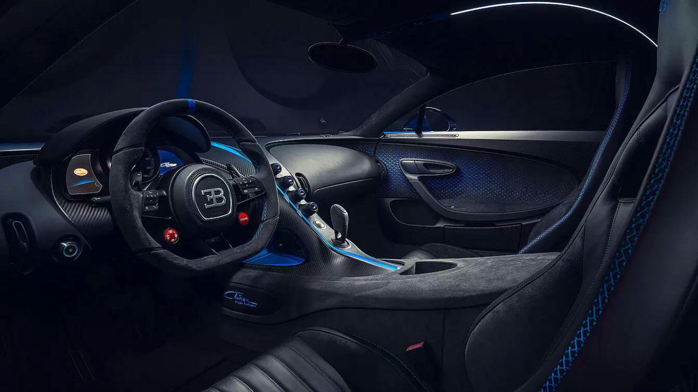 Bugatti Chiron Pur Sport Interior 02