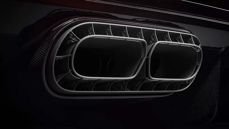 Bugatti Chiron Pur Sport Parte Trasera