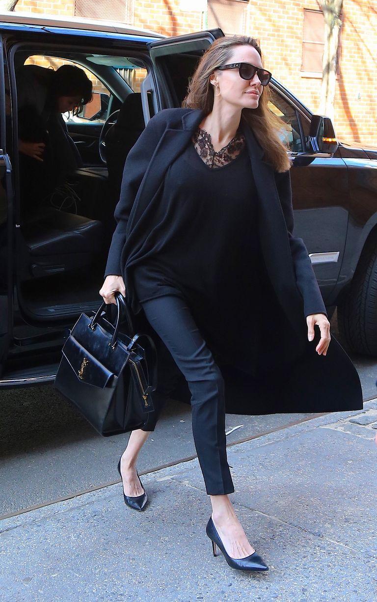 Elle Angelina Jolie Look Negro