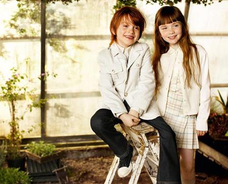 Burberry Niños Primavera Verano 2009 01