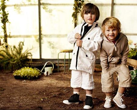 Burberry Niños Primavera Verano 2009 07
