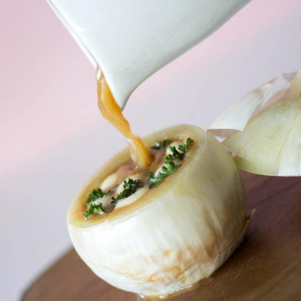 Sopa de Cebolla Braseada